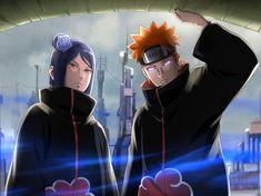 An unexpected enemy Sasunaru, Boruto, Kiba And Akamaru, Sarada Uchiha, Naruto Shippuden Sasuke, Kakashi, Akatsuki, Pain Naruto, Anime Echii