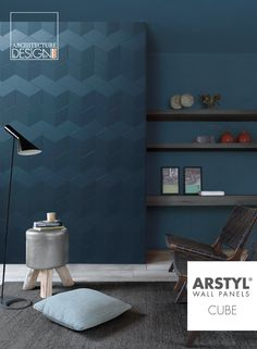 ARSTYL® Wall Panels CUBE designed by Martin Bogaers