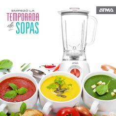 Hacé las sopas con la licuadora de vaso ATMA! #ATMADeLaSemana
