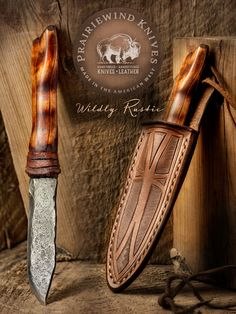 Leather Carving, Leather Tooling, Hand Forged Knife, Neck Knife, Hunting Knives, Bushcraft Knives, Outdoor Tools, Knife Handles, Mountain Man