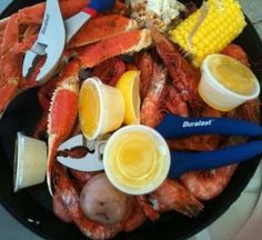 Gulf Shores Steamer. Voted one of TOP SEAFOOD RESTAURANTS IN U.S. by Coastal Living, Southern Luving and USA Today. Who am I to argue. Put on your list! Orange Beach Alabama, Sweet Home Alabama, Perdido Key Florida, Gulf Shores Vacation, Best Crabs, Gulf Shores Alabama, Seafood Restaurant, Seafood Boil, Spring Break