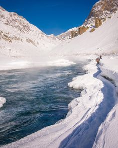 I was scrolling through old hard drives. Memories of golden days I must say almost 12 years old image from one of my Chadar Expeditions. Hardly handful people used to travel on river who really wanted to experience winter life of Zanskar region. . Trek used to take 21-30 days to finish crossing some amazing landscapes challenging conditions on the river brutal cold and warm hearted village people on the way to Padum was added bonus always. . I must say golden days of exploration is dead at…