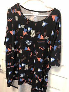 LulaRoe Irma- XL- $25 Selling Lularoe, Blouse, Tops, Women, Fashion, Moda, Fashion Styles, Blouses, Fashion Illustrations