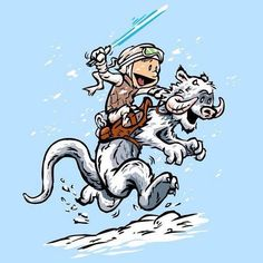 Calvin and Hobbes, Star Wars!