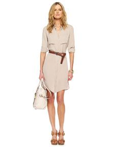 Celebrities who wear, use, or own Michael Kors Belted Shirt Dress. Also discover the movies, TV shows, and events associated with Michael Kors Belted Shirt Dress. Delias Dresses, Day Dresses, Dresses For Work, Dries Van Noten, Dior, Belted Shirt Dress, Lace Dress, Ralph Lauren, Michael Kors