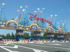Disneyland in Paris.  They had to use brighter colors than in Florida and California due to cloudier skies.  It also seems like visiting a place where everyone spoke in tongues due to all the different languages everyone spoke.