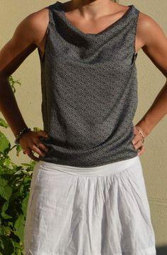 Tutos simples de vêtements femme, site de couture pour débutante