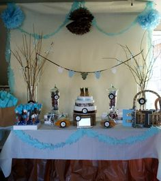 Eli - The Little Hunter Baby Shower Party Ideas & Camouflage baby shower | My Parties! | Pinterest | Camouflage ...