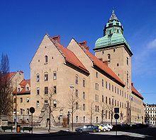Carl Westman - Tukholman raatihuone kungsholmilla - 1900-15