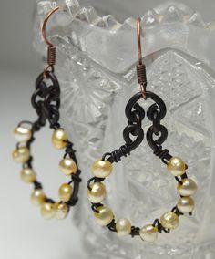 Vintage remix earrings on etsy  #earrings #FallanDesigns #jewelry