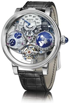 """The brand new #Bovet - #Watch """"Récital 18 Shooting Star"""" limited edition (50 ex) january 2016 #Horology ---"""