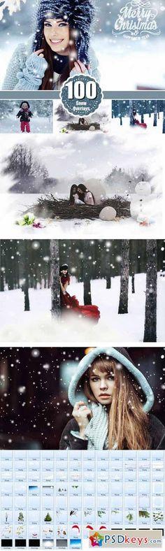 A neve do inverno Photoshop Sobreposições 478992