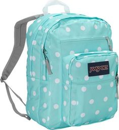 JanSport Big Student Backpack Aqua Dash Spots - via eBags.com!