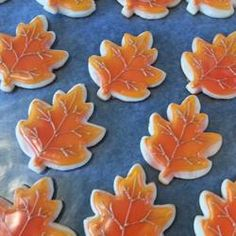 Sugar Cookie Icing. Easy to make, dries hard and looks glossy when finished.