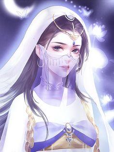 Anime Art, Fantasy Characters, Anime Fantasy, Manga Watercolor, Fantasy Art, Beautiful Fantasy Art, Female Art, Cute Art, Fantasy Girl
