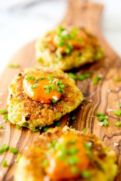 CHICKPEA CAKELETS WITH HARISSA AIOLI via A House in the Hills