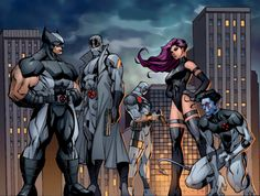 Uncanny X-Force (Wolverine, Fantomex, Deadpool, Psylock, & Nightcrawler)