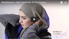 Tutoriel Hijab: 2 Styles Simples, Rapides Et faciles À Faire | astuces hijab