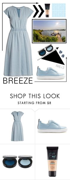 """Breeze #lightblue #summer #sophisticated #fashionable #classy #vacation #countmein"" by rae-love-fashion-design ❤ liked on Polyvore featuring MASSCOB, Pierre Hardy, INC International Concepts and Maybelline"