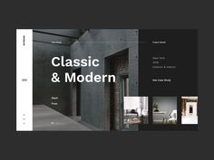 Shots for Practice Shots for Practice concept design studio architechture studio exterior interior home slider dark modern graphic clean minimalism flat design homepage website ux ui - Add Modern To Your Life Best Website Design, Website Design Layout, Web Layout, Layout Design, Banner Design, Design Responsive, Ui Ux Design, Interface Design, Page Design