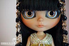 OOAK custom blythe doll - Cleo - by Chinalilly Dolls