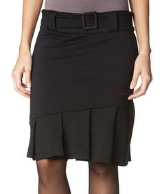 Take a look at this Black Saphira Skirt by Hookahey on #zulily today!