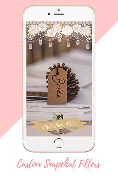 Custom Snapchat Wedding Filter