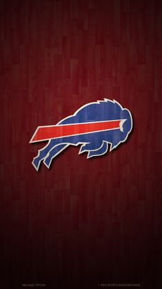 PSB has the latest schedule wallpapers for the Buffalo Bills. Backgrounds are in high resolution and are available for iPhone, Android, Mac, and PC. Buffalo Bills Logo, Red And Black Wallpaper, Nfl Logo, Team Logo, Ss Lazio, Football Conference, New York Giants, American Football, Vikings