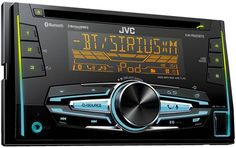 JVC KW-R920BTS Double DIN Bluetooth In-Dash Car Stereo with XM Ready, 3-zone variable color illumination and FLAC