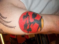 Karate Kid Symbol tattoo Sweep the leg. Done by Charley Glass Rate of pictures of tattoos, submit your own tattoo picture or just rate others Piercing Tattoo, Piercings, Bonsai Tree Tattoos, Symbol Tattoos, Tree Silhouette, Picture Tattoos, Karate, Martial Arts, Tatting