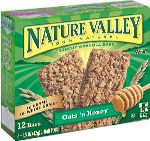 Nature Valley Oats 'N Honey - You never no when you'll be stuck at a site with no handy vending machine.