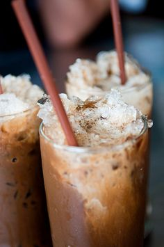 Ice Coffee Ice coffee, by Ran Ga Fae Jek Pia (Uncle Pia Coffee Shop ร้านกาแฟเจ๊กเปี๊ยะ), Hua Hin, Thailand.