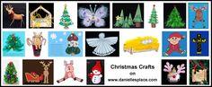 Christmas Crafts for Kids www.daniellesplace.com
