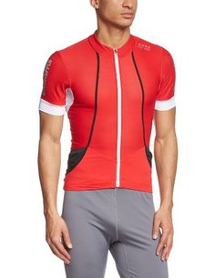 GORE BIKE WEAR Mens Road cyclist jersey Short sleeves GORE Selected Fabrics OXYGEN WINDSTOPPER Soft Shell Size XL BlackWhiteRed SMWOXY >>> More info could be found at the image url. This is an Amazon Affiliate links.