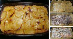Karfiollal és darált hússal gazdagított rakott krumpli | TopReceptek.hu