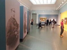 Ateneum the National Gallery. Von Wright brothers exhibition.