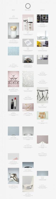 Simple white design