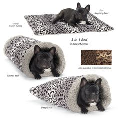 Cozy 3 in 1 Burrowing Bed - Dog Beds, Dog Harnesses and Collars, Dog Clothes and Gifts for Dog Lovers | In The Company Of Dogs