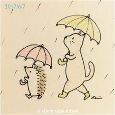 1200 雨あめ降れふれ Let it rain!