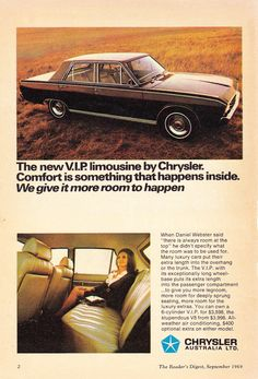 Plymouth Scamp, Bus Engine, Chrysler Valiant, Chrysler New Yorker, Australian Cars, Chrysler Cars, Car Brochure, Retro Cars, Vintage Cars