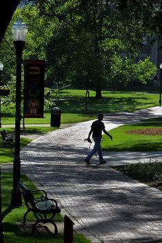 Quad by California University of Pennsylvania, via Flickr