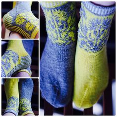 Ravelry: Ohdake-nilkkasukat – Thistle Socks pattern by Tiina Kaarela Knitting Socks, Free Knitting, Knitting Patterns, Knit Socks, Knitting Ideas, Lots Of Socks, Crazy Socks, Knitted Slippers, Yarn Over
