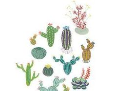 Image result for indian cactus prints