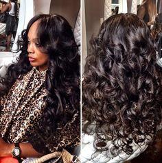 .#curls #sewin
