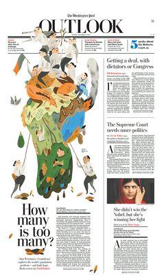 The Washington Post on Behance