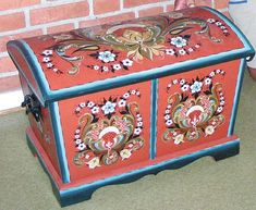 Magnuson's rosemaling displayed in Norway | News-Record & Zumbro Shopper