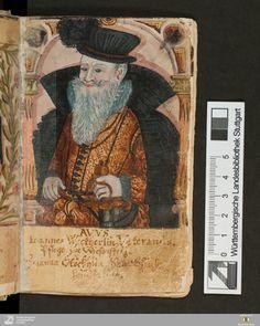 Stammbuch Johann Michael Weckherlin - Cod.hist.oct.218 Erscheinungsort Tübingen [u.a.] Erscheinungsjahr 1594 - 1625, 1648 - 1652