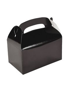Black Treat Favor Boxes (6 Pack) - Favor Bags & Boxes & other Party Supplies from Birthday in a Box