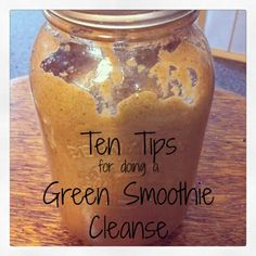 Helpful tips & tricks to successfully completing a green smoothie cleanse! Includes top 10 tips for doing a green smoothie cleanse. Jj Smith Green Smoothie, 10 Day Green Smoothie, Green Smoothie Cleanse, Green Smoothie Recipes, Healthy Smoothies, Healthy Foods, Body Cleanse Diet, Juice Cleanse, Detox Organics