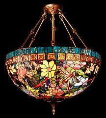 Stained Glass on Tiffany Lamps #tiffanylamps